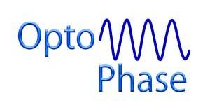 optophase logo